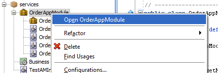 create root application module